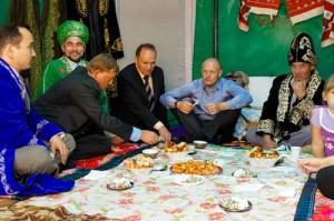 Казахское гостеприимство