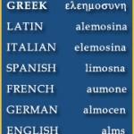 греческие слова в науке
