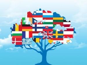 семьи языков мира