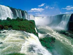 Водопады в Аргентине
